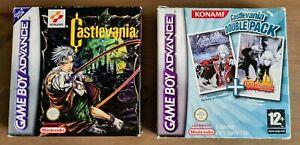 Castlevania Bundle - C.I.D. - Genuine - Complete - Nintendo Game Boy Advance GBA