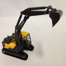 "Volvo EC140E Excavator 6.5"" Diecast With Plastic Construction New Ray Toy Yellow"