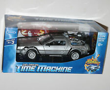 Welly - DELOREAN Time Machine 'Back To The Future II' - Diecast Model Scale 1:24