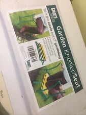 More details for portable folding pad foam padded garden kneeler gardening knee pad stool seat