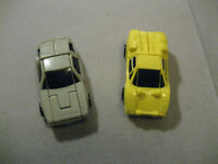 Vintage Transformers G1 Swindler And Freewheeler 1989