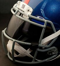 *CUSTOM* NEW YORK GIANTS NFL OAKLEY Football Helmet EYE SHIELD / VISOR