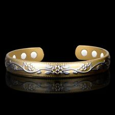 Pure Copper Magnetic Therapy Bracelet Bangle Magnets Energy Arthritis For Women