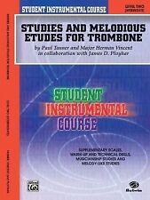 Student Instrumental Course Studies & Melodious Etudes For Trombone Level 2