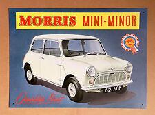 Morris Mini Minor - Tin Metal Wall Sign