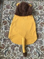Top Paw Lion Coat Size Extra Large