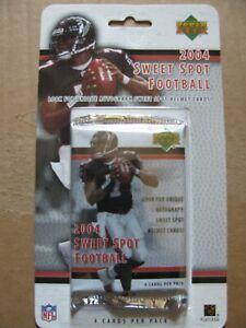 2004 UPPER DECK SWEET SPOT FOOTBALL SEAL BLITZ CARD PACKS