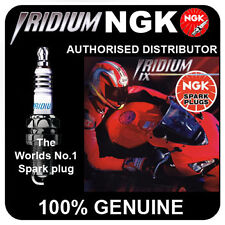 NGK Iridium IX Spark Plug PIAGGIO Beverly 200 (4-Stroke) 200cc All [CR8EIX]