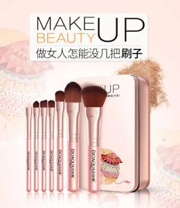 BIOAQUA 7PCS/SET Women Facial Makeup Brushes Set Face Cosmetic Beauty Eye Shadow