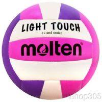 MOLTEN MS240VP Recreational Light Touch Volleyball 12 & under Outdoor/Indoor