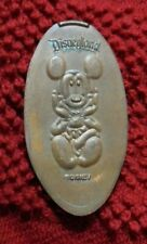 Mickey Mouse elongated penny Disneyland USA cent Disney souvenir coin