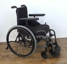 TiLite Aero-X ultralight folding wheelchair, Ti Shadow wheels, coated push rims