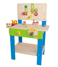 Hape Master Workbench Kids Wooden Educational Toy Tool Bench Tool Workshop