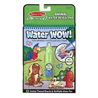 Melissa And Doug On The Go Water Wow Water Animals Reveal Pad NEW Crafts