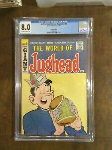 Archie Giant Series #9 CGC 8.0 VF 35c Price Variant World of Jughead