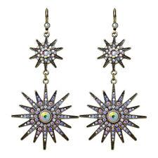 Kirks Folly Mystic Star Leverback Earrings (Brasstone)