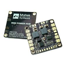 Matek Systems Mini Power Distribution Boad PDB with Dual 5V & 12V BEC FPV Racing