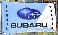 STI Banner Man Cave Automotive Garage Racing Subaru Tecnica Flag 58X17 inches