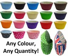Coloured Cupcake Muffin Paper Cases 12, 24, 36, 48, 180, 360, 720 - Any Quantity