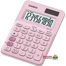 AUSSIE SELLER CASIO DESK CALCULATOR 8 DIGIT MS-7UC-PK PINK COLOUR SOLAR+BATTERY