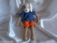 Doudou chien 100 % coton, L'oiseau Bateau, Blankie/Lovey/Newborn toy