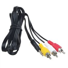 AV A/V Audio Video TV Cable Cord Lead for JVC Everio GZ-HD7/U/S GZ-HD7/AU/BU/EK