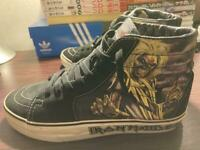 VANS x Iron Maiden collaboration sneakers SK8 size 7.5 Killers model Used