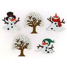Jesse James Buttons ~ Dress It Up ~ SNOW DON'T GO 9073 ~ Snowmen ~ Craft ~ Sew