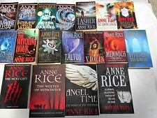 ANNE RICE - 17 OF HER BESTSELLERS + ONE- INTERVIEW WITH THE VAMPIRE +++