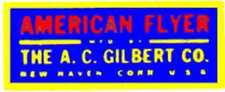 ACCESSORY WATER SLIDE DECAL for AMERICAN FLYER S Gauge TRAINS