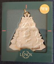 "Lenox ~ ""For My Best Friend"" ~ PORCELAIN ORNAMENT ~ #1-865-5293 ~ Teddy Bears"