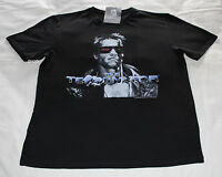The Terminator Movie Mens Black Printed Short Sleeve T Shirt Size XL New
