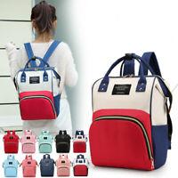 Fashion Mom Diaper Bag Large Capacity Multi-function Waterproof Travel Bag