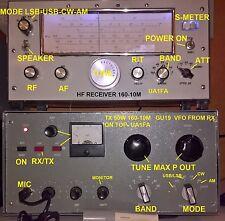 Classik style  HF radio  RX and TX  UA1FA  50W