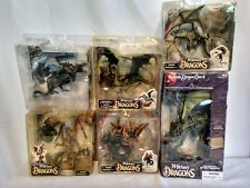 McFarlane's The Fall of the Dragon Kingdom FULL SET (6) six dragons NEW IN BOX