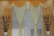 Gardine Store Vorhang Gardinen-& Querbehang-Set Fertiggardine