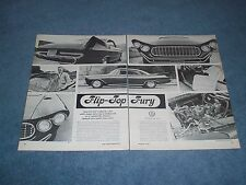 "1959 Plymouth Fury Custom Led Sled Vintage Article ""Flip-Top Fury"""