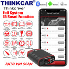 Thinkdriver Car OBD2 Scanner Bluetooth All System ABS SRS TPMS IMMO Oil Reset US