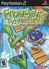 ***FROGGER ADVENTURES THE RESCUE PS2 PLAYSTATION 2 DISC ONLY~~~