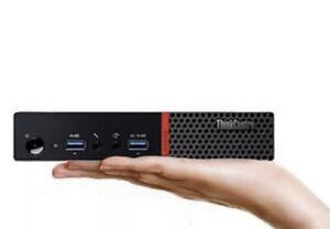 Lenovo ThinkCentre M700 Tiny Core i3-6100T 3,2 GHz 8Go 500Go WINDOWS 10