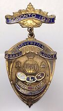 1921 Independent Order of Odd Fellows Toronto Lodge 97th Annual Session B150