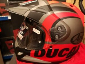 Ducati Enduro Helmet Tour-X4 By Arai Color V4 Size M *BRAND NEW* BARGAIN