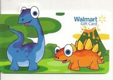 WalMart Cartoon Dinos Dinosaurs Die-Cut COLLECTIBLE GIFT CARD New Never Swiped