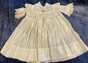 Antique Fabulous Dress for French / German Bisque Doll
