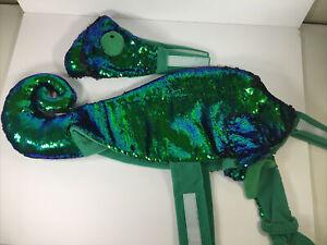 Dog Haloween Costume Pet Outfit Size M (Medium) Chameleon Lizard