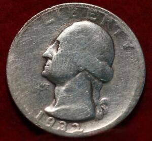 1932-S San Francisco Mint Silver Washington Quarter