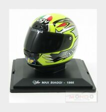 Agv Casco Helmet Max Biaggi 250Cc 1995 World Champion EDICOLA 1:5 DEAGCAS007