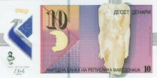 MACEDONIA,2018,,10 DENARI POLYMER,UNCIRCULATED,,(S)