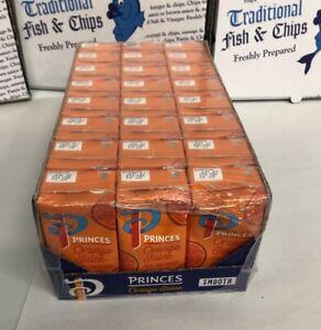 Princes Orange Juice cartons 200ml X 24 - Kids Lunchbox Size - 200ml