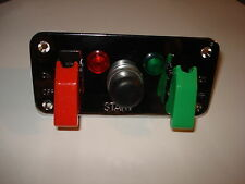 Cromo Panel de conmutador de encendido/Brisca/Kit Car/Coche De Carrera/Escort/100e/105e/Cortina